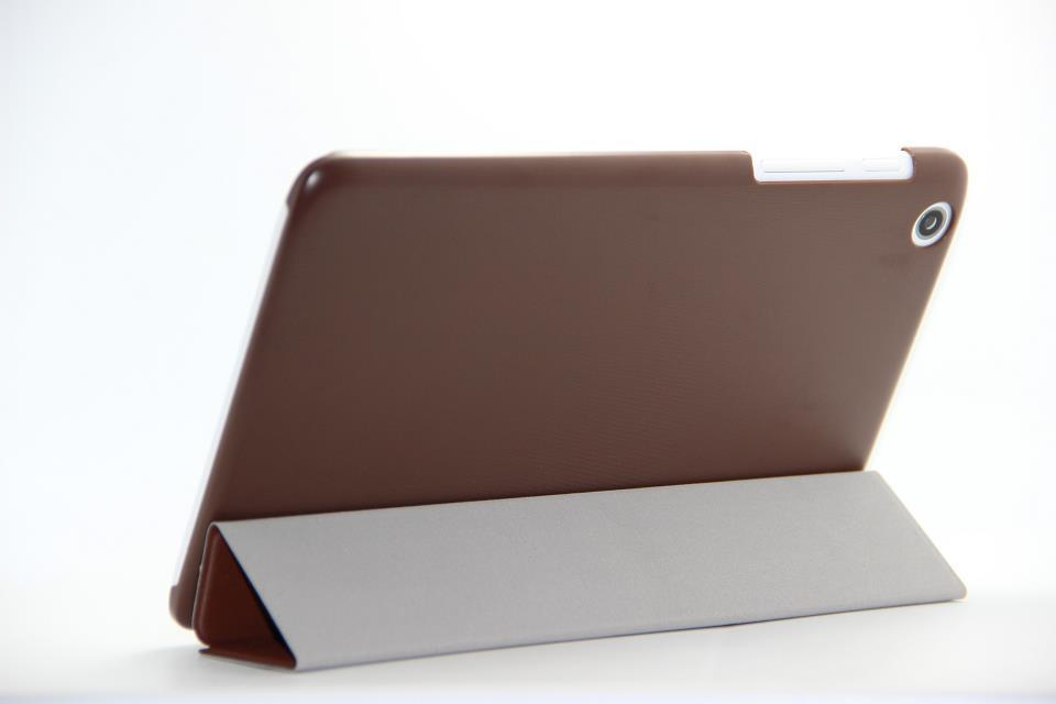 Buiness Ultrathin Cover Lenovo 8.0 A5500 3 Foldable Stand Leather Case 8 inch Tablet PC - HK GX-Tech Co.,Ltd store