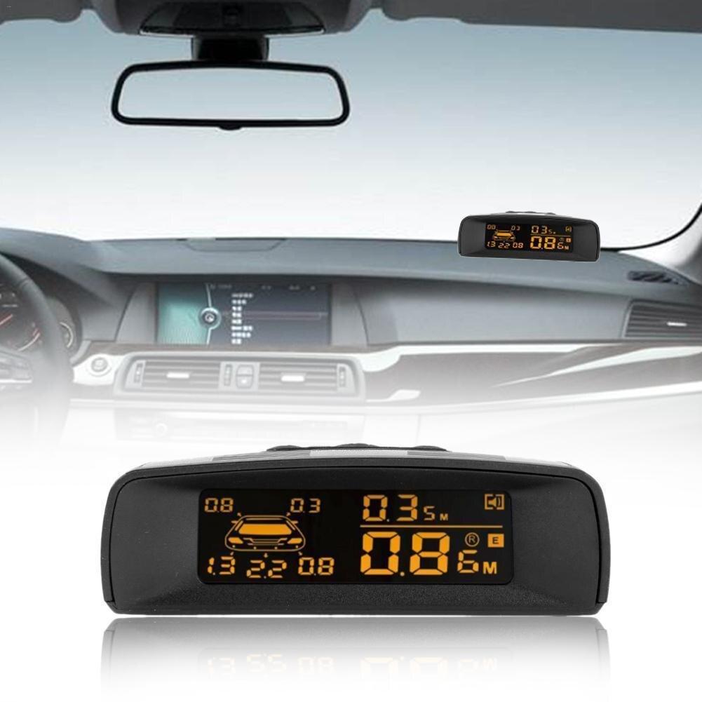 Sichtbar Volle Digitale Abstand Display Umkehr Radar LCD Auto Parkplatz Sensor Kit A10 Fit Alle Autos