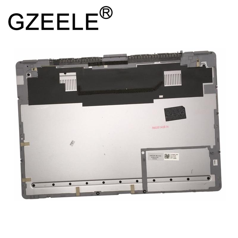 GZEELE new For Dell Inspiron 7437 14-7437 Base Bottom Case 60.46L01.002 14 Bottom Case Access Panel Door Cover DG8RG 0DG8RG gzeele new for dell precision 7710 7720 m7710 m7720 bottom base cover access panel door 73jtc 073jtc bottom door rear case