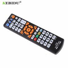 Controle remoto inteligente universal, controle remoto ir com função de aprendizado para tv cbl dvd sat para l336