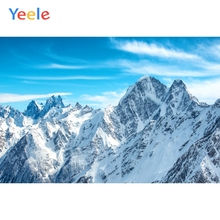 Yeele Winter Landscape Nice Snow Mount Sky Room Decor Photography Backdrop Personalized Photographic Background For Photo Studio