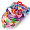 12pcs Mix Colors animal Polymer Bracelets Child Jewelry polymer clay children' Kids bracelets Fashion Kids Children Bracelet