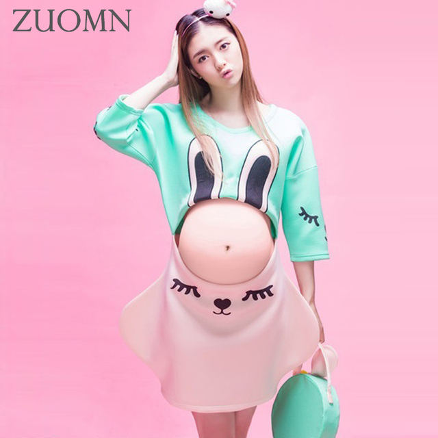 531e39e1bea57 US $27.52 31% OFF|Pregnancy Dress Photography Maternity Fashion Gowns  Maternity Dresses For Photo Shoot Pregnant Clothing vineyard vines GH400-in  ...