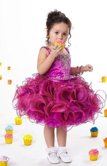 Red Pageant Cupcake Dress