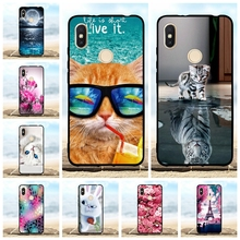 For Xiaomi Redmi S2 Y2 Case Ultra-thin Soft TPU Silicone Cover Cute Patterned Funda Bag