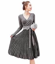 Autumn-Women-s-Long-Style-Sweater-Skirt-2016-Fashion-Flash-Pattern-Sweater-Skirt-Sexy-Leisure-Women