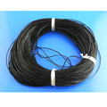 10M 1mm Black Real Leather Cord Thread Fine Jewelry Findings High Quality DIY Accessories Handmade Bracelets For Women Men