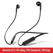 หูฟังหูฟังบลูทูธไร้สายหูฟังสเตอริโอแฮนด์ฟรีกีฬาหูฟังชุดหูฟังสำหรับiPhone Xiaomi fone de ouvido