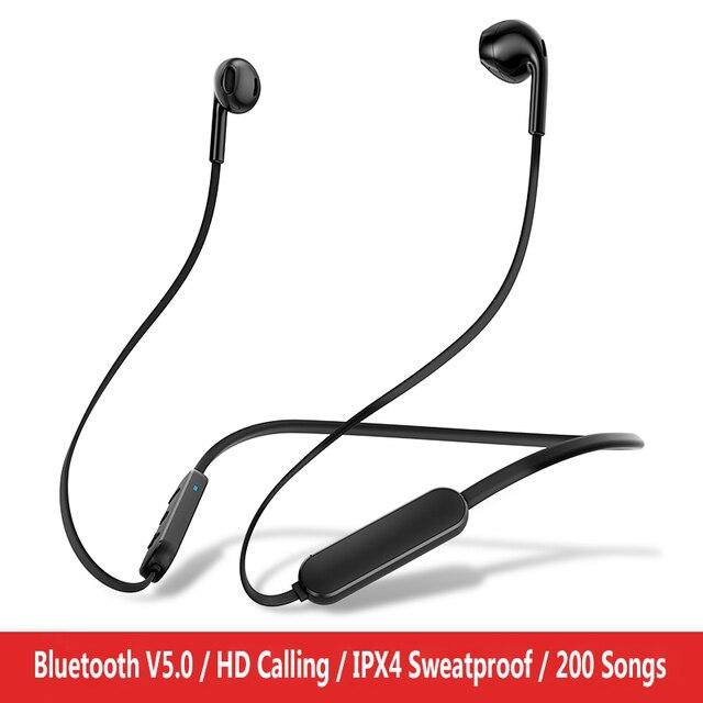 GUSGU шейным Bluetooth наушники с микрофоном беспроводной стерео Auriculares динамик для iPhone huawei беспроводные наушники