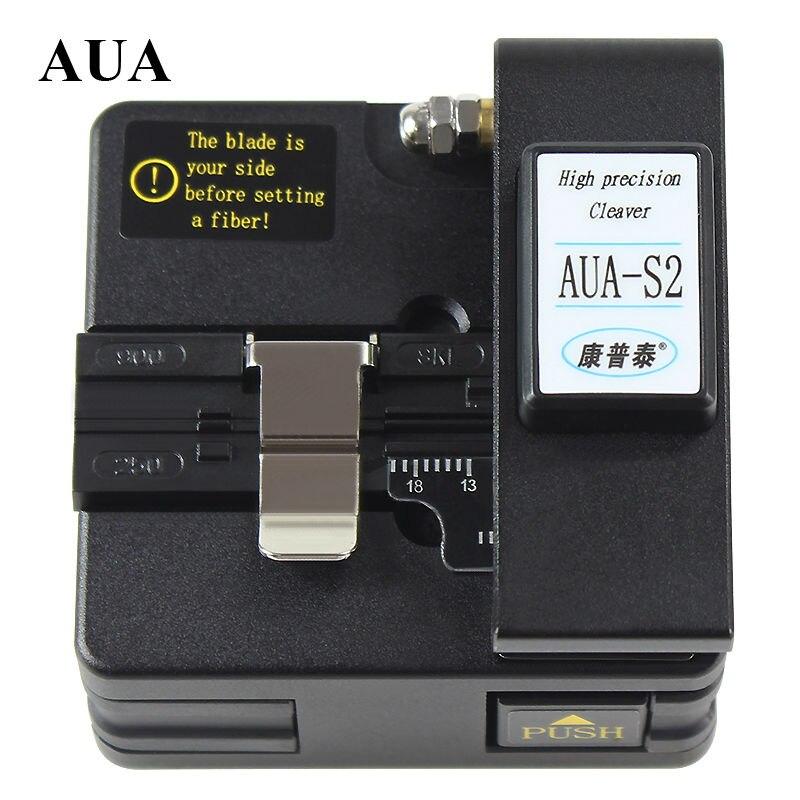 Livraison gratuite prix de gros, coupe-fibre optique de haute précision AUA-S2 couperet de fusion de fibre optique, coupe-fibre optique