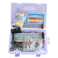 Starter learning Kit for Arduino UNO R3 LCD1602 Servo processing contains different electronic components