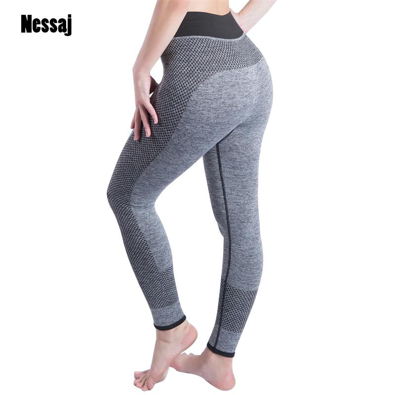 Nessaj Vysoký pas Sexy Hip Push Up Kalhoty Legging pro aktivitu Jegging Gothic Leggins Dobrodružství Čas Body Shapers Ženy Legíny