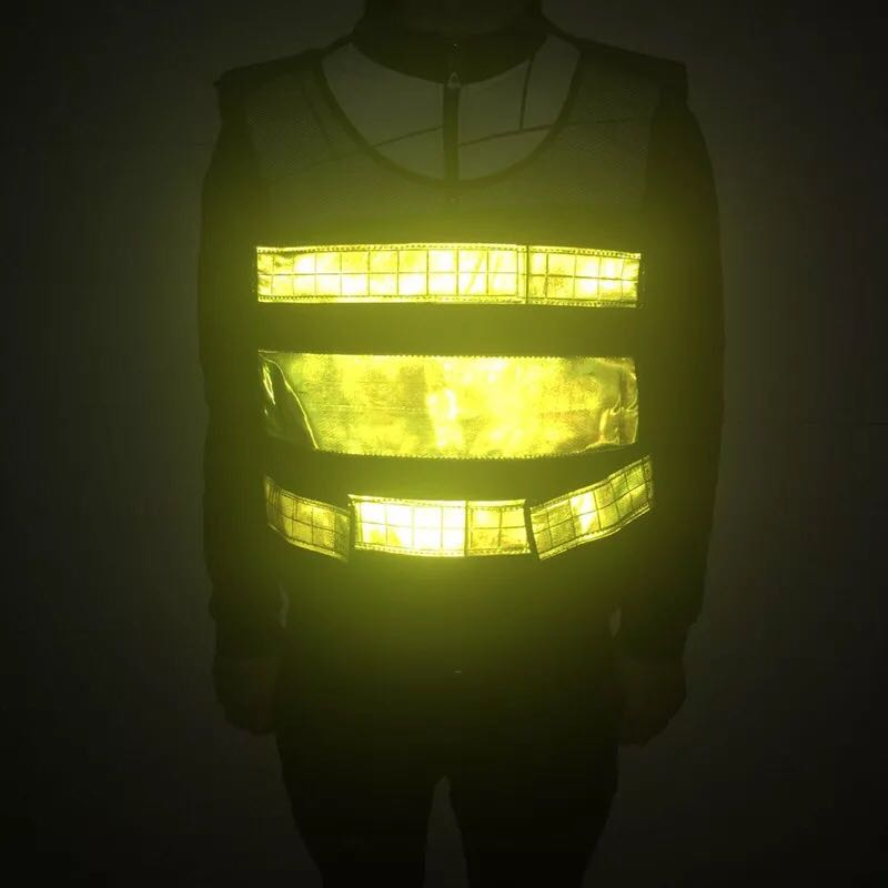Pvc Reflective Tape Safety Reflective Vest Highways Sanitation Reflective Mesh Vests Safety Clothing