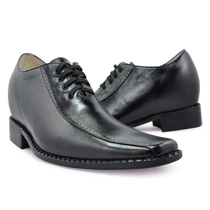 Online Shop 6131-Men's London Black Leather Dress Shoes - Tuxedos ...