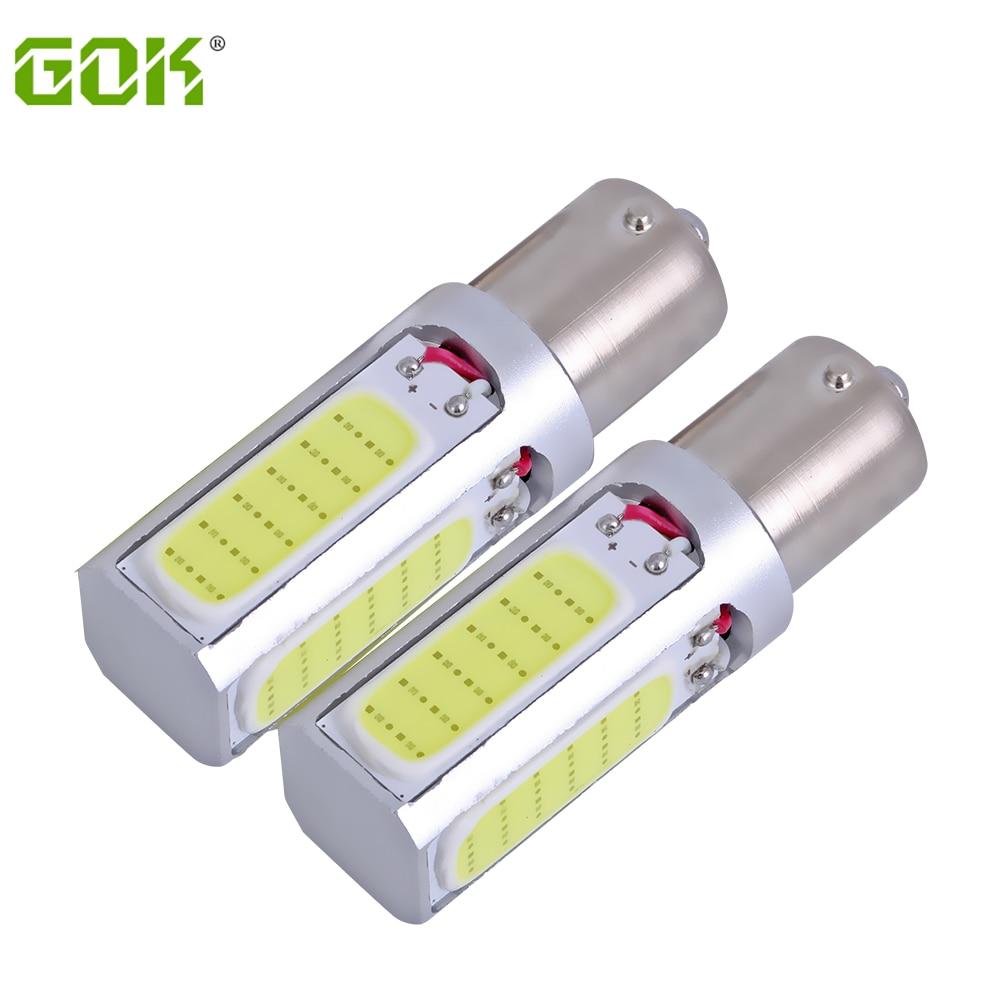 Car S25 20W 1156 LED cob bulbs BA15S P21W 1157 BAY15D COB led car cob led turn stop signal Brake Tail light Lamp 10pcs/lot