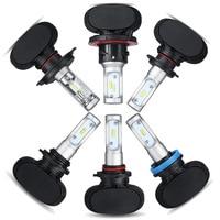 Universal S1 30W H1 H4 H7 H3 9005 CSP Led Headlight High Lumen 6000K Kit Beam