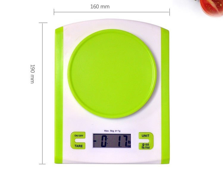 household kitchen scale mini electronic scales weighing 01g chinese baked cake 5kg nest in grams