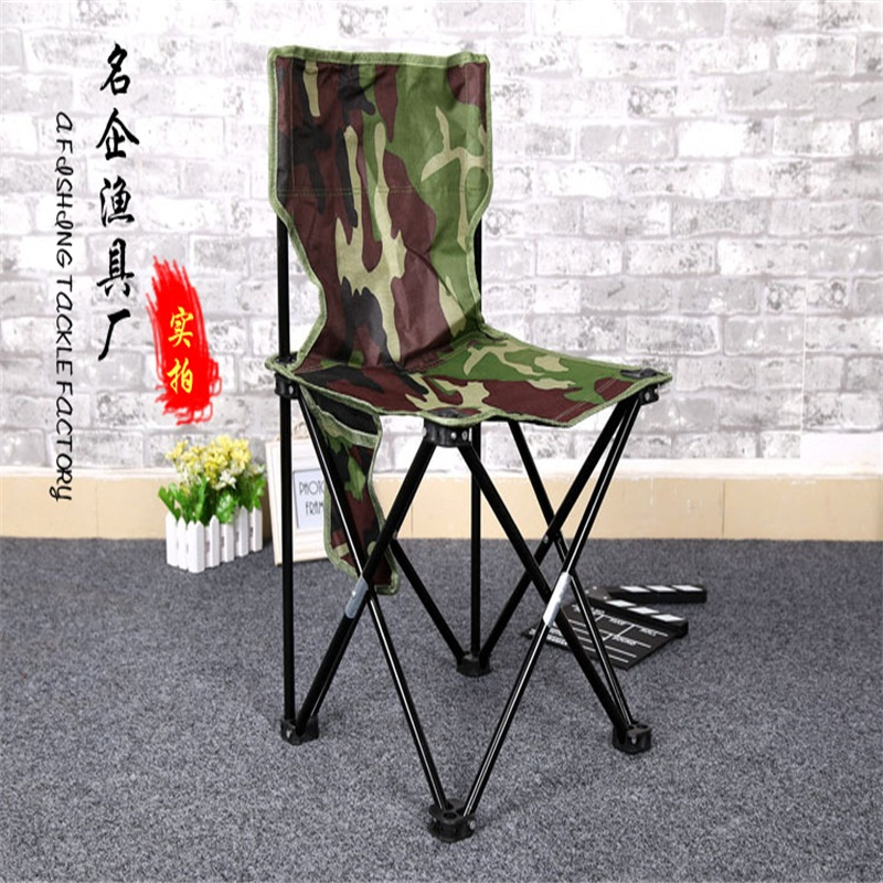 43*43*68cm Folding Beach Portable Chairs Fishing chair Outdoor camp stool outdoor traveling camping tripod folding stool chair foldable fishing chairs portable fishing mate fold metal chair