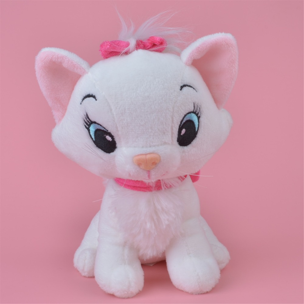 30 cm The Aristocats cat plush toys Marie cat Animals Stuffed plush dolls Soft toys for baby gift Free Shipping