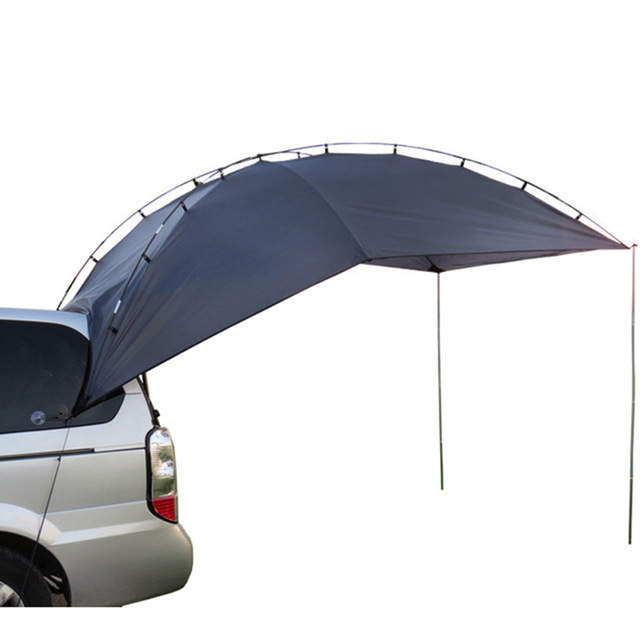 Grntamn Car Awning Camper Camping Tent With Pole For All Suv Mpv