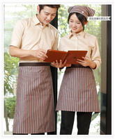 Aprons Men And Women Japanese And Korean Version Of Food And Beverage Work Clothes Apron Western