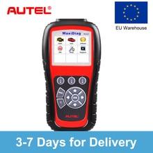 Autel MD805 OBD2 Авто сканер Бортовая Система диагностики 2 автомобиля диагностический сканер Eobd Automotivo Automotriz автомобильный сканирующий инструмент