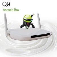 Best Europe Arabic Iptv Set Top Box Q9 Android 4 4 Build In Wifi Quad Core
