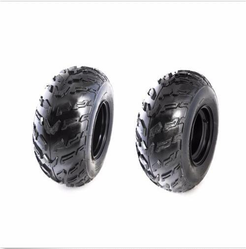Lot de 2 pneus UTV ATV avec jantes 22x10-10 22x10x10 22-10-10 roues