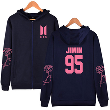 BTS Zipper Persona Hoodies (27 Models)