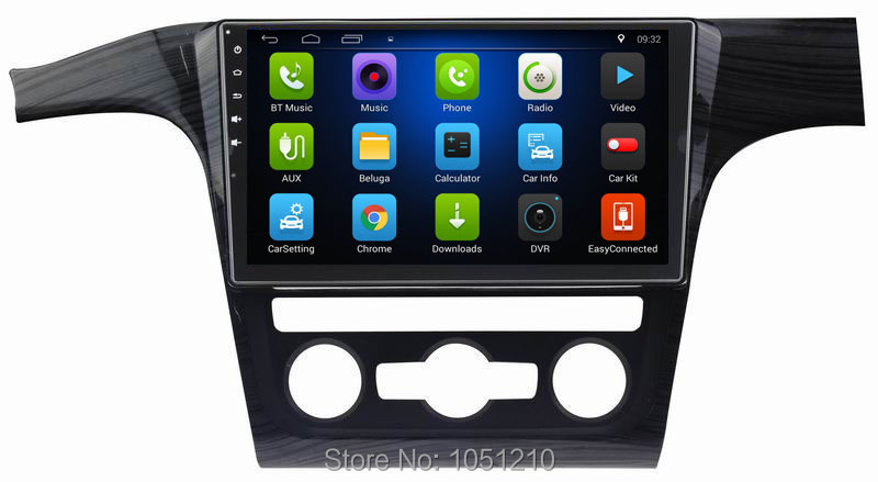 Ouchuangbo car stereo auto usb gps autoradio tv for VW Passat support HD screen swc 3G WIFI BT AUX android 6.0