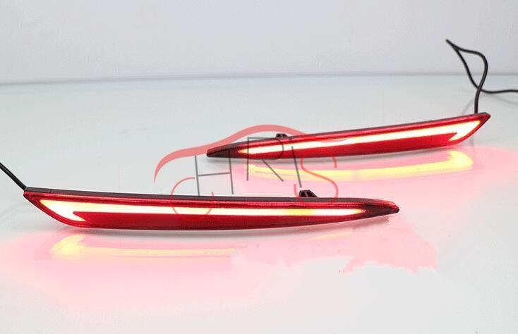 12В 8ВТ LED бампера заднего света предупреждение световой сигнал для Форд Мондео фьюжен задний фонарь