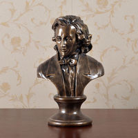 13 Great Musician Chopin Bust Resin Statue