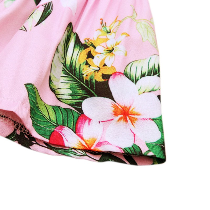 2018 Toddler Newborn Kids Baby Girls Floral Bikini Swimwear Swimsuit Bathing 2Pcs Suit Beachwear