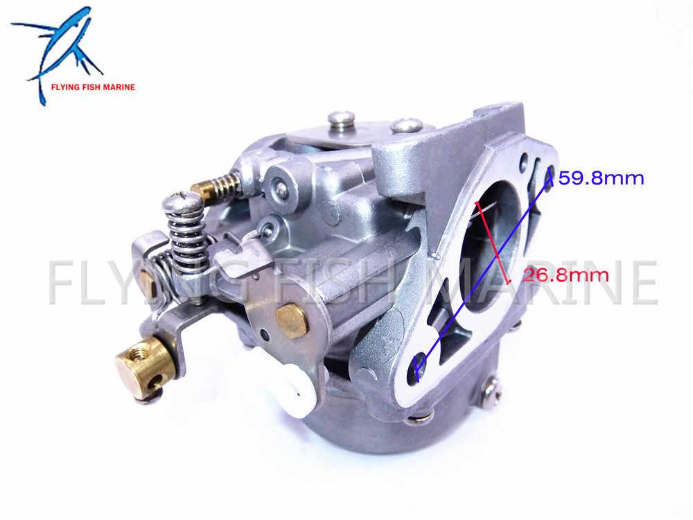 Boat Motor Carburetor 6G1-14301-01 for Yamaha 2-stroke 6hp 8hp 6CMH 6DMH  8CMH outboard motors 6G1-14301