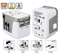 4 USB Port All in One Universal International Plug Adapter World Travel AC Power Charger Adaptor with AU US UK EU Plug