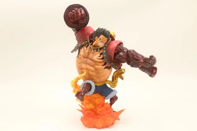 New One Piece Battle Ver. Monkey D Luffy Gear 4 Bound Man King Kong Gun Model Toy Luffy Action Figure Collection Kids Toys 24cmNew One Piece Battle Ver. Monkey D Luffy Gear 4 Bound Man King Kong Gun Model Toy Luffy Action Figure Collection Kids Toys 24cm