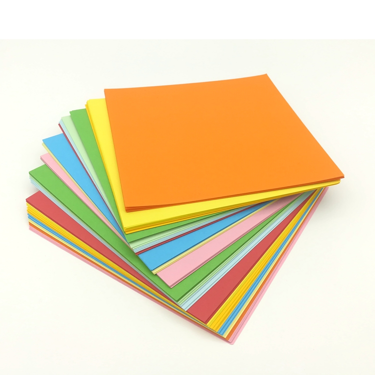 15x15cm Size  Environmentally-friendly Handmade Origami Color Paper For Children