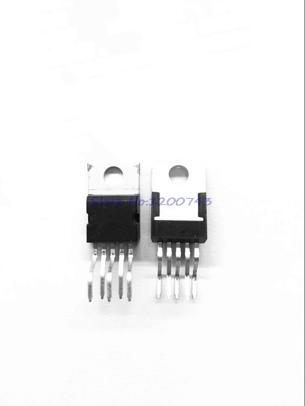10PCS AUDIO AMPLIFIER IC ST TO-220-5 TDA2003A TDA2003AV
