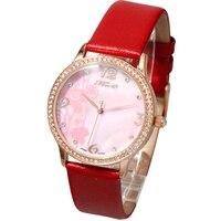 Luxury Top Brand Watches Women's Fashion Watch 2019 High Quality Female Diamond Clock Minimalist Leather Quartz Girl Wristwatch