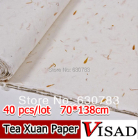 free shipping 40 pcs/lot 70*138cm Chinese xuan paper for artist Painting & Calligraphy,traditional hand made rice painting paper