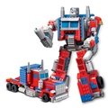 Regalos de navidad Para Niños 1 Unidades Kazi Robot Transformación Bloques DIY Autobot Bumblebee Modelo Juguetes de Construcción Compatibles Legoe