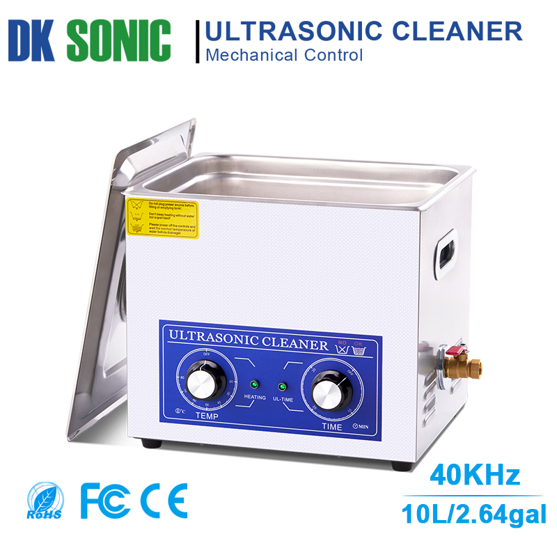 240W 10L PS-40 Stainless Ultrasonic Gun Cleaner with Heater Timer Ultrasound Washer for Bullets Shell Hardware PCB Metal Parts240W 10L PS-40 Stainless Ultrasonic Gun Cleaner with Heater Timer Ultrasound Washer for Bullets Shell Hardware PCB Metal Parts