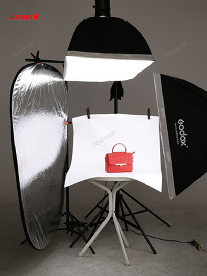 Photo Studio Accessories Qualified Photographic 60cm Tempered Glass Background Board Photo Background Cloth Photography Reflection Plate Table Cd50 T03 Consumer Electronics