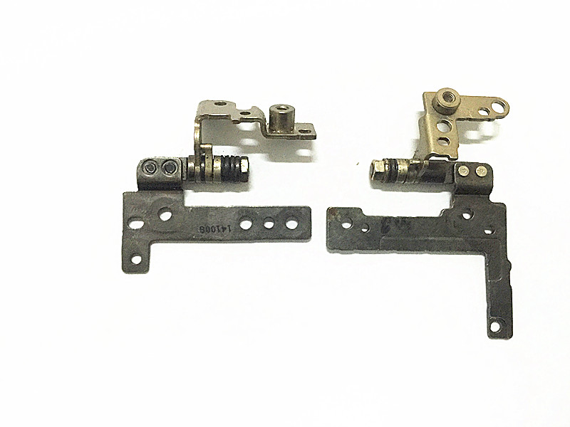 New LCD Hinges For <font><b>Dell</b></font> Latitude E7240 E <font><b>7240</b></font> Notebook LCD Screen Display Left & Right Hinges Steel Brackets Set image