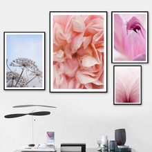 Chinese Rose Tulip Angelica Wall Art Canvas Painting Nordic Posters And Prints Landscape Pictures For Living Room Decor