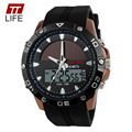 2016 New TTLIFE Brand Solar energy Watch Digital Quartz Men Sports Watches Multifunctional Outdoor Military Dress Wristwatches