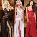 palace restoring ancient ways sexy lingerie sexy nightgown for women princess maxi dress open fork condole belt lace net yarn