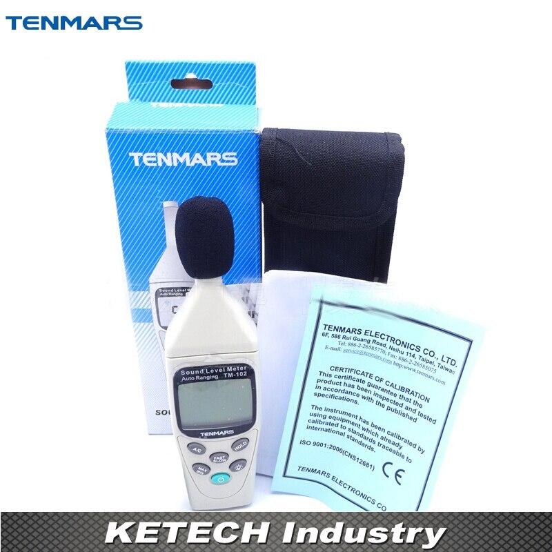 Portable Digital TM-102 Autoranging Sound Level Meter tm 102 autoranging sound level meter