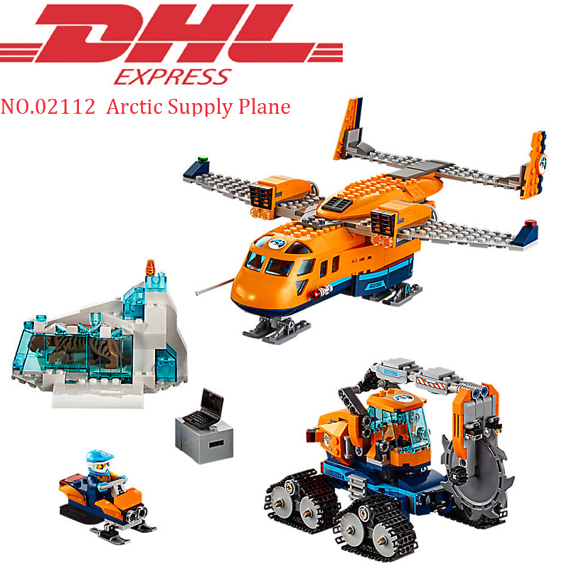 2018 New Lepin 02112 791Pcs City Arctic Supply Plane Sets Model Building Kits Blocks Bricks Toys For Children Compatible 60196 lepin 02112 new city series the arctic supply plane set 60196 building blocks bricks legoinglys toys model boy christmas gifts