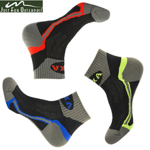 2016 New Men s Brand Outdoor Sport Socks Running Socks Coolmax Socks Quick Dry Breathable Warm